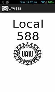 UAW Local 588 - screenshot thumbnail