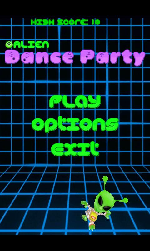 Alien Dance Party- screenshot