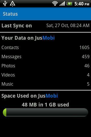 jusStor- screenshot