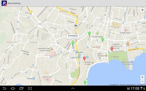 【免費旅遊App】Swiss Parking-APP點子