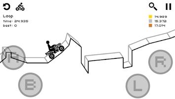 Screenshot of Draw Rider