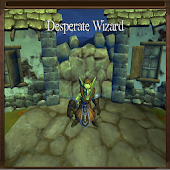 Desperate Wizard