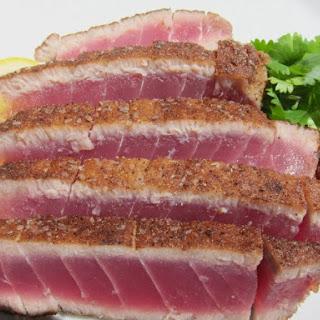 Moroccan Spiced Seared Rare Tuna