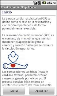 Reanimación Cardiorespiratoria - screenshot thumbnail