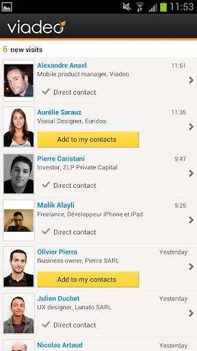 Обзор Viadeo для Android: профессиональная социальная сеть