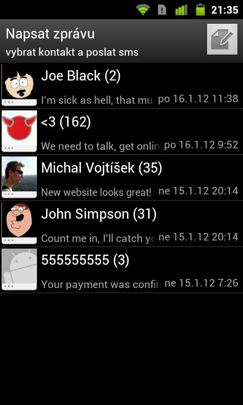 Free SMS Sender - screenshot