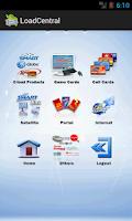 Screenshot of LoadCentral Retailer's App