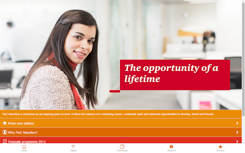 PwC Mauritius Recruitment - screenshot thumbnail