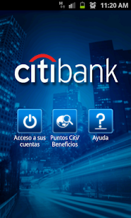CitiMobile CO - screenshot thumbnail