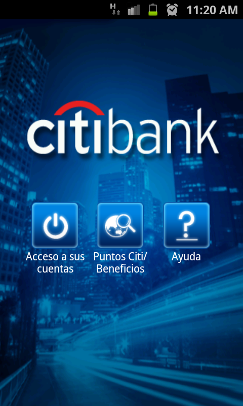 CitiMobile CO - screenshot
