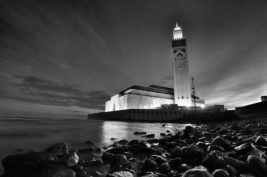 2.Hasan mosque by Savas Karagoz - Black & White Buildings & Architecture
