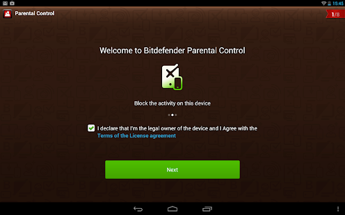 Bitdefender Parental Control- screenshot thumbnail