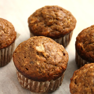 Banana Oat Muffins with Molasses