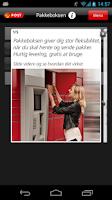 Screenshot of Post Danmark