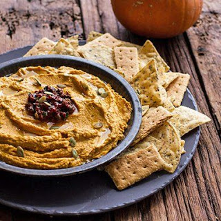 Spicy Chipotle Pumpkin Hummus