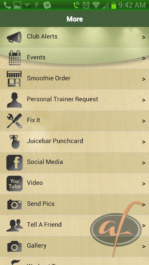 Atlanta Fitness - screenshot