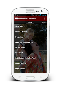 Miss March Soundboard - screenshot thumbnail