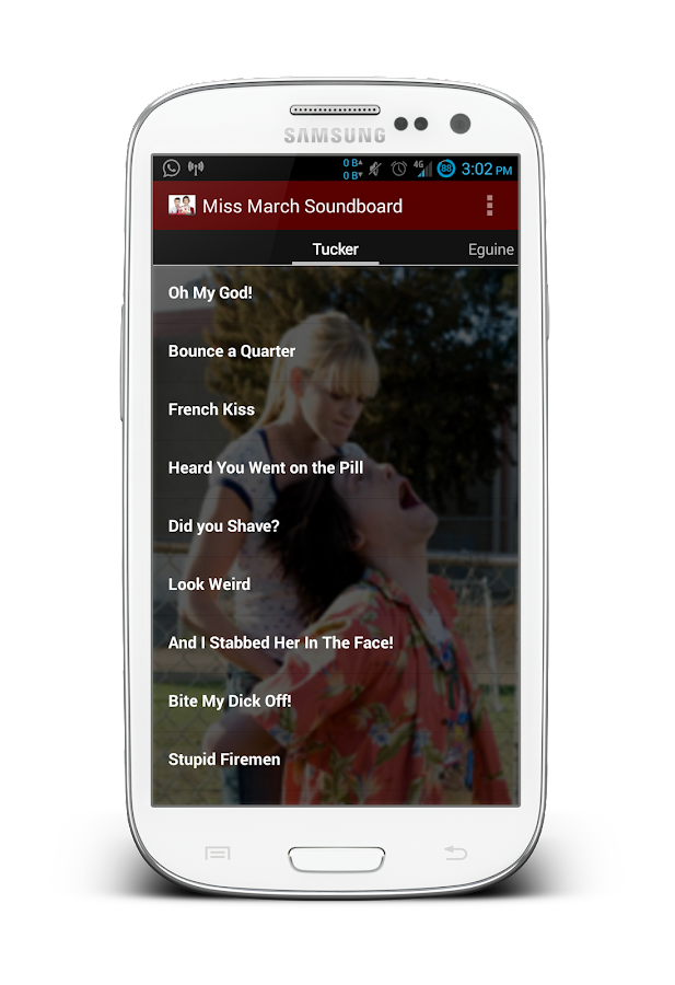 Miss March Soundboard - screenshot