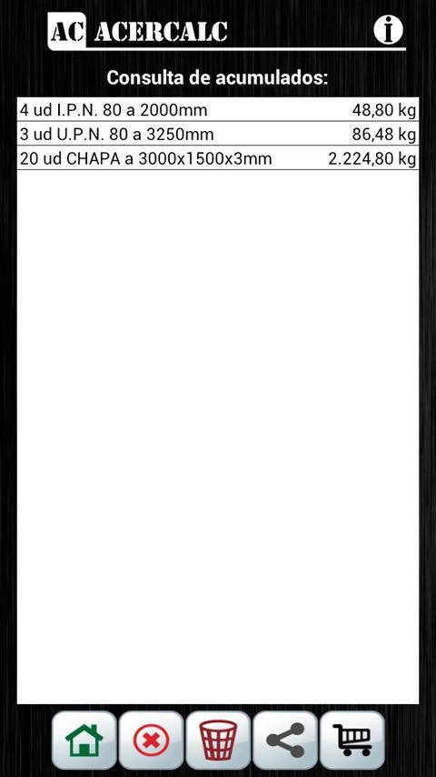 AcerCalc- screenshot