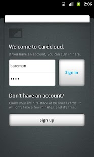 Cardcloud - screenshot thumbnail