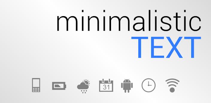 Minimalistic Text PRO v3.0.10.4.3