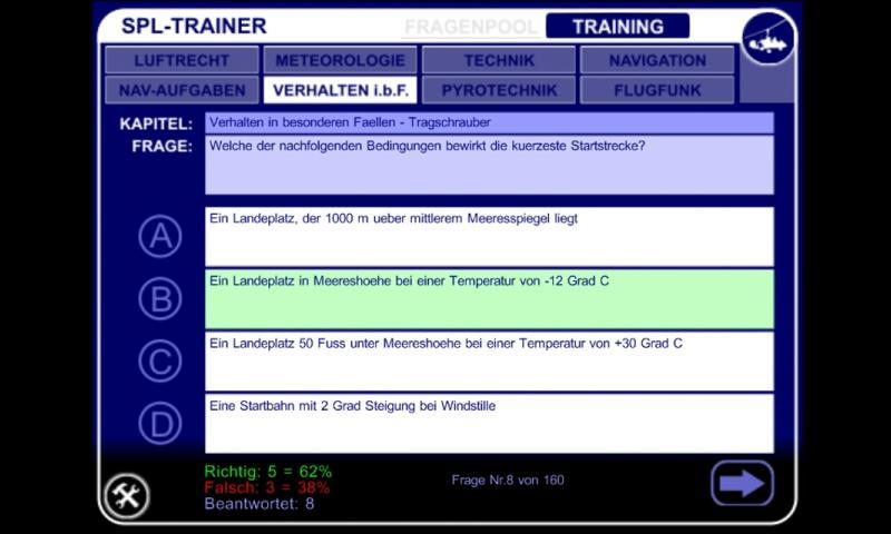SPL Trainer – Screenshot