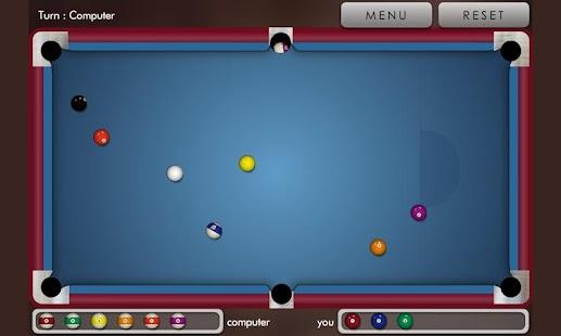 Pool billiard !- screenshot thumbnail