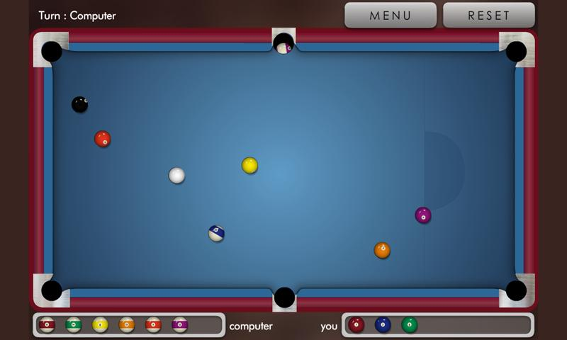 Pool billiard !- screenshot