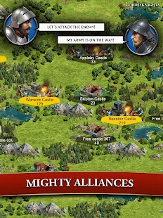 Lords & Knights - Strategy MMO - screenshot thumbnail