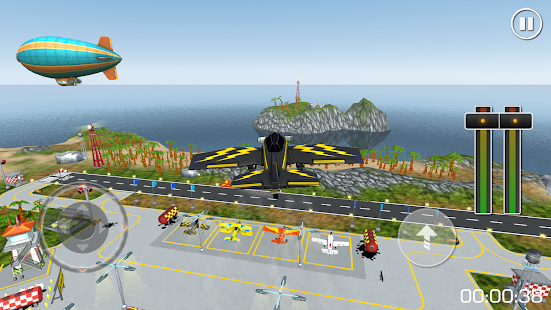 Flight Sim Island Airport- screenshot thumbnail