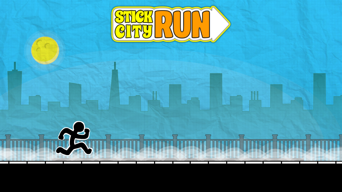 Stick City Run: Running Game - screenshot