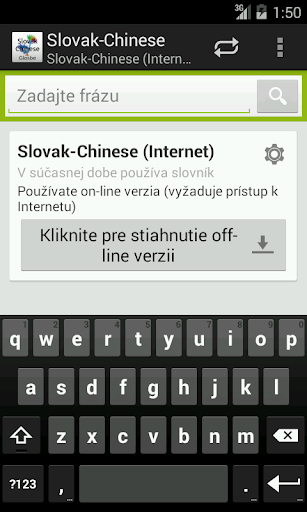 Slovak-Chinese Dictionary