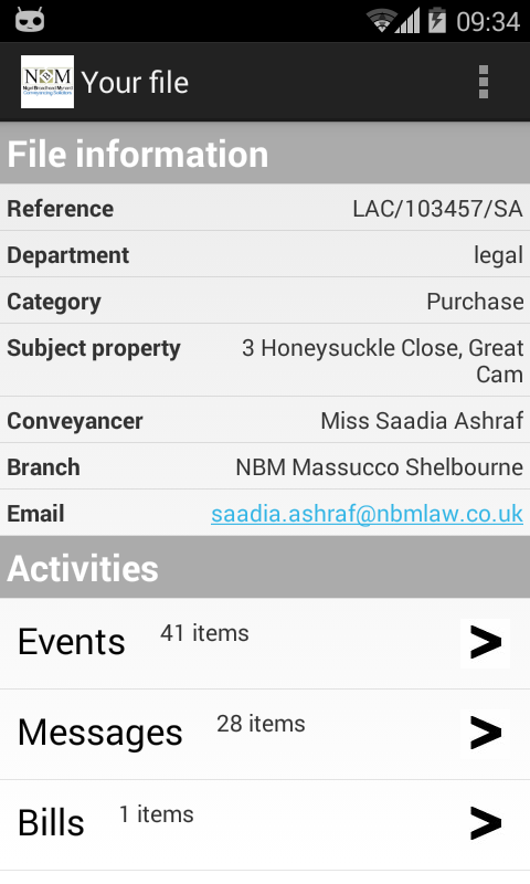 NBM Conveyancing Solicitors- screenshot
