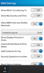 Blackberry Messenger BBM - screenshot thumbnail