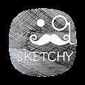 SKETCHY ICONS APEX/NOVA/ADW/GO icon