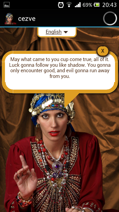 Cezve Coffee Oracle- screenshot