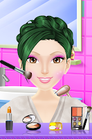 Screenshot of Sally Makeover Salon