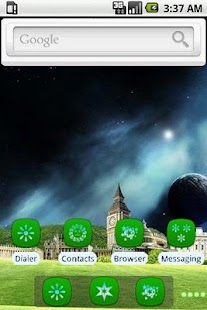 Secret World [SQTheme] for ADW - screenshot thumbnail