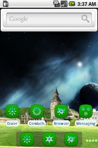 Secret World [SQTheme] for ADW - screenshot