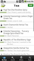 Screenshot of Tea Collection + Inventory