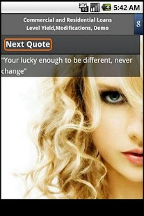 Taylor Swift Quotes - screenshot thumbnail