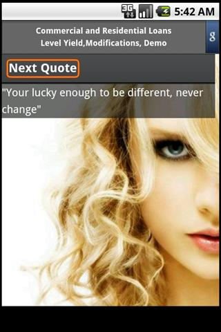 Taylor Swift Quotes - screenshot
