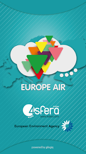 EuropeAir - Air Quality Europe: miniatura de captura de pantalla
