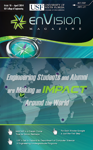 USF Envision Magazine