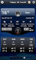 Screenshot of Weather HD - World Weather App