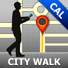 Calgary Map and Walks icon