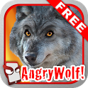 Angry Wolf Free! icon