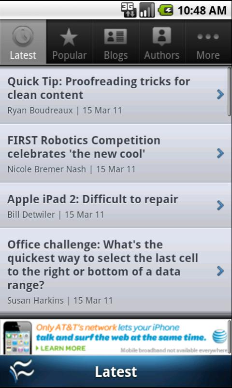 TechRepublic Mobile- screenshot