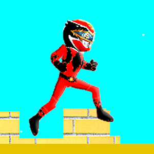 Red Rangers Jumping Game for PC and MAC