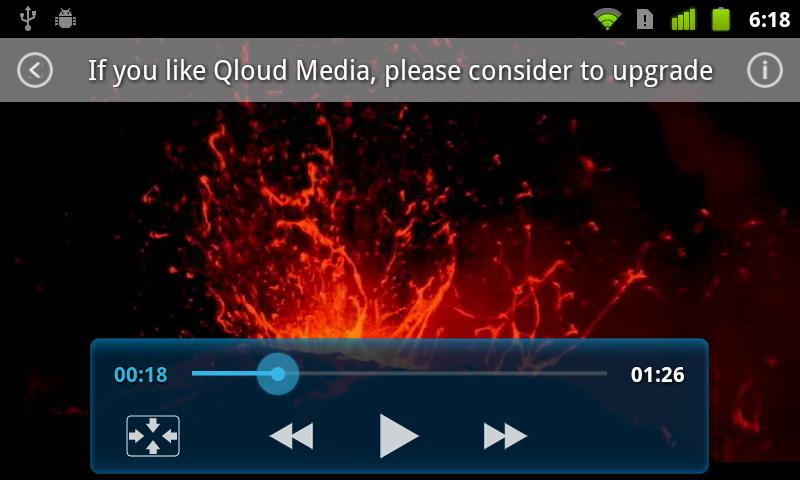 Qloud Media Free - screenshot